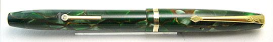 Conway Stewart No.12 Green Pearl & Gold Vein