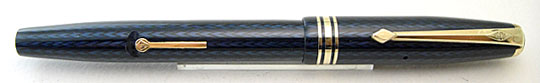 Conway Stewart No.73 Blue Pearl Herringbone