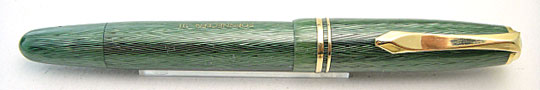 Soennecken 111 Lady Sea Green Herringbone