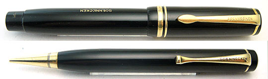 Soennecken Präsident 1 &125 Pencil with 366P Leather Case
