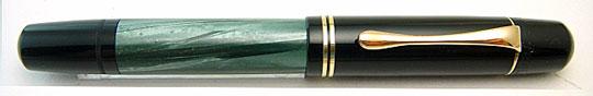 Pelikan 100N Black/Green MBL