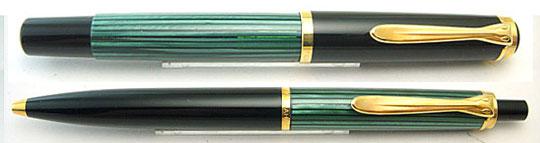 Pelikan M400/K400 Black/Green 150 Jahre