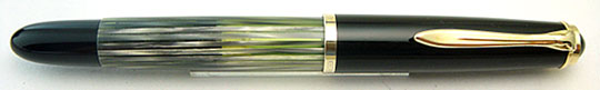 Pelikan 400 Black/Grey Pearl Stripe