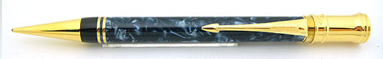 Parker Duofold Pencil Blue MBL Early