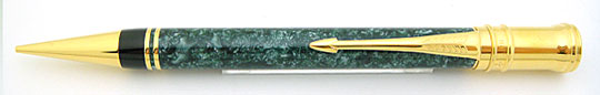 Parker Duofold Pencil Green MBL 90s Early