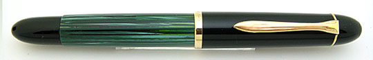 Pelikan 140 Black/Green Stripe BBB