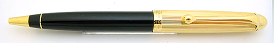 Aurora 88 Classic Ball Point Gold Plate Cap