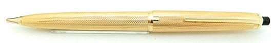 Montblanc No.95 Pix Pencil 750 Solid Gold Barley Corn