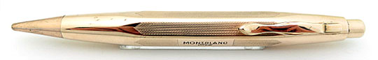 Montblanc No.750/Design 1 Pix Pencil Rolled Gold