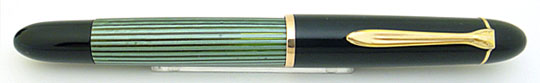 Pelikan 140 Black/Green Stripe Steno