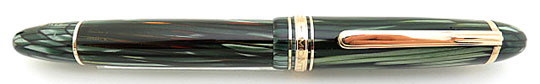 Montblanc 146G Masterpiece Green Striated