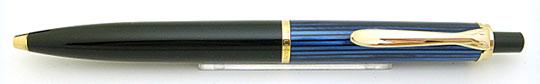 Pelikan K500(K400)Blue Stripe/Black Ball Point