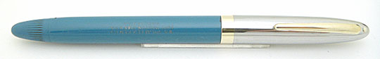 Sheaffer Statesman Snorkel Steel/Pastel Blue