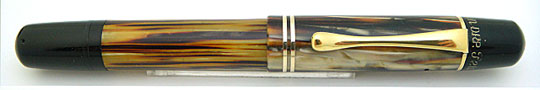 Pelikan 101N Dark Tortoise-shell Black Top