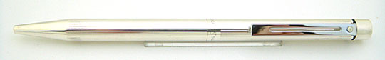 Sheaffer Targa 1004 Sterling Silver Straight Line Ball Point