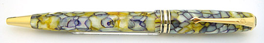 Conway Stewart No.58 Yellow Tiffany Ball Point