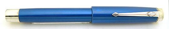 Conway Stewart Silver Duro Blue