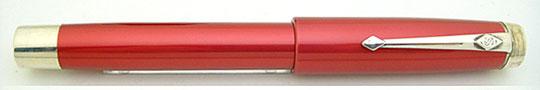 Conway Stewart Silver Duro Red