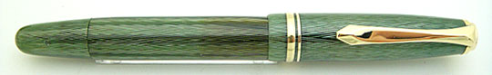 Soennecken 111 Superior Sea Green Herringbone