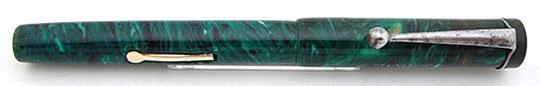 Haro Grass Pen Lever Filler Jade Green Casein