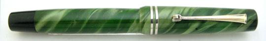 No Brand Grass Pen Push Button Filler Light Green MBL