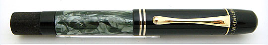 Pelikan 100 Black/Grey Green Swirling MBL