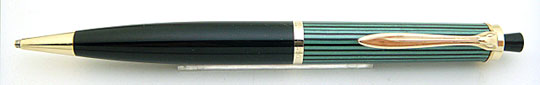 Pelikan 450 Pencil Black/Green Stripe