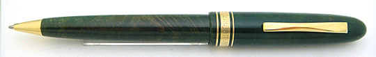 Omas AM87 Ever Green Brier Ball Point