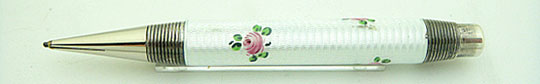Fend made Floral Enamel 935 Silver Pencil