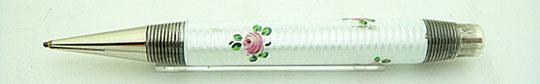 Fend made Floral Enamel 935 Silver Pencil