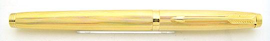 Parker 75 Milleraies Gold Plate