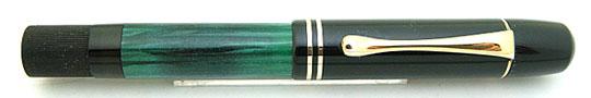 Pelikan 100 Black/Jade Green MBL K nib