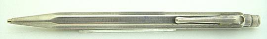 CARAN d'ACHE Ecridor Rolled Silver Pencil 1.18mm