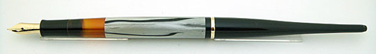 Pelikan 100N Black/Gray MBL made in Milano Desk Set
