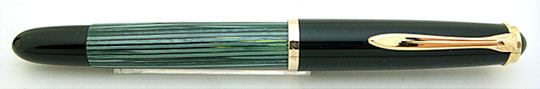 Pelikan 400NN Black/Green Stripe Steno