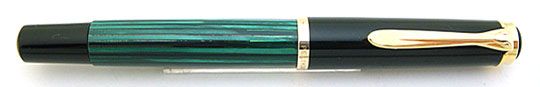 Pelikan M400 Black/Jade Green Early