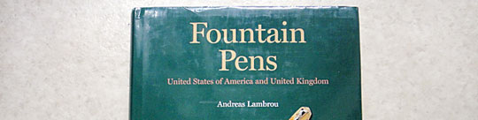 Conway Stewart Book- Fountain Pens -