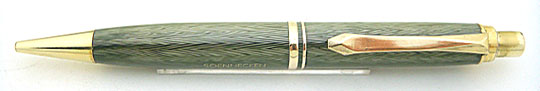 Soennecken 11 Pencil Sea Green Herringbone