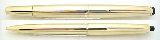 Montblanc No.82 Meisterstück & No.86 Pix Rolled Gold Set