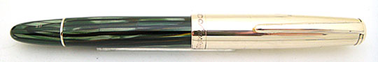 Montblanc 642 Masterpiece Rolled Gold/Green Striated