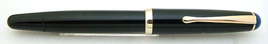 Montblanc 3-42G Black Blue Cap Top