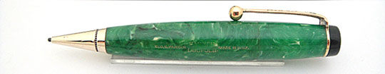 Parker Duofold Vest Pocket Pencil Jade Green