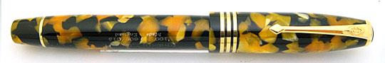 Conway Stewart 100 Honey Noire 3-Cap Ring
