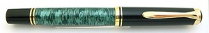 Pelikan M400 Black/Green Pearl Ring Prototype