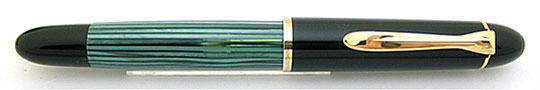 Pelikan 140 Black/Green Stripe