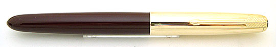 Parker 51 Rolled Gold 12CT/Burgundy