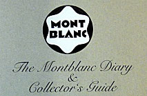 The Montblanc Diary and Collector's Guide