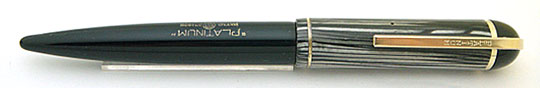 Platinum 10 Year Pen Grey Stripe