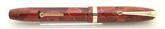 Conway Stewart 84 Red Pearl&Gold Vine MBL