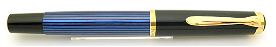 Pelikan M400 Black/Blue Stripe Early